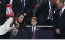 Książę George przeżył mecz