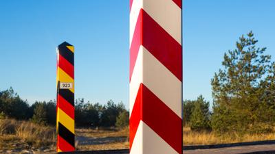 Ogrodzenie na polsko-niemieckiej granicy