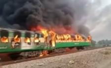 Pożar pociągu i kilkadziesiąt ofiar - przyczyną tragedii jest ludzka głupota