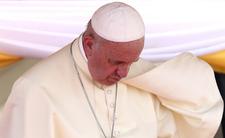 Papież Franciszek w żałobie