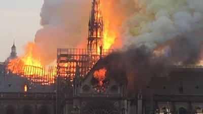 Pożar katedry Notre Dame - przyczyna to jednak podpalenie?