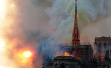 Spłonęła katedra Notre dame. Polscy politycy deklarują pomoc