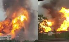 Pożar elektrowni w Rosji - czy przyczyną był wyciek gazu?