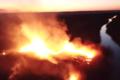 Pożar w Czarnobylu.