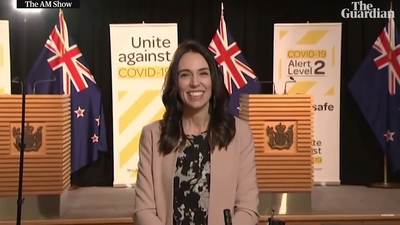 Trzęsienie ziemi nie poruszyło premier Nowej Zelandii. Legendarna reakcja