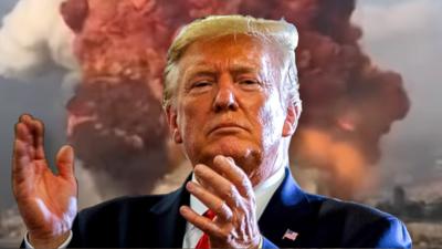 Wybuch w Bejrucie  - Donald Trump podaje możliwe przyczyny