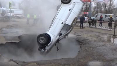 Wypadek w Rosji - zginęli w męczarniach kipiącym piekle