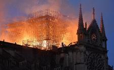 Katedra Notre Dame spłonęła. Rusza śledztwo