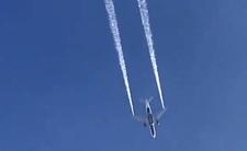 Samolot awaryjnie zrzucił paliwo. Ucierpiały dzieci