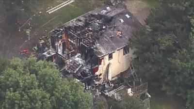 Samolot uderzył w dom. Są ofiary śmiertelne