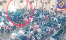 Sri Lanka i zamachy - nagranie wideo z ataku w kościele w Negombo