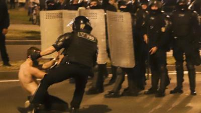 Protesty na Białorusi. Milicja strzela polską amunicją