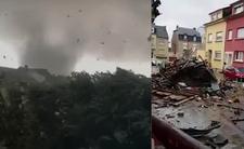 Szaleńcze tornado niszczyło wszystko. Luksemburg spustoszony [WIDEO]