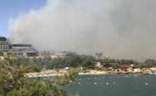 Płonie hotel w Turci. Mateusz Borek komentuje pożar w Bodrum na żywo