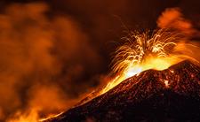 Włochy: Erupcja Etny