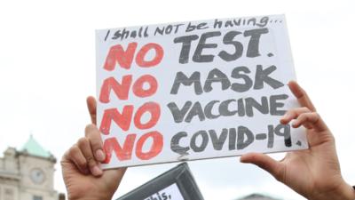 Zakaz mówienia, że pandemia to bzdura