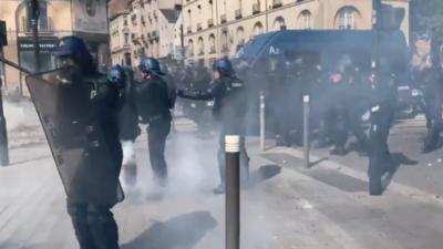 Francja i protesty Żółtych Kamizelek - policja nie miała litości